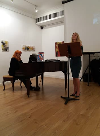 Our Piano Teacher Velina Performance in Embassy 2018 (London)